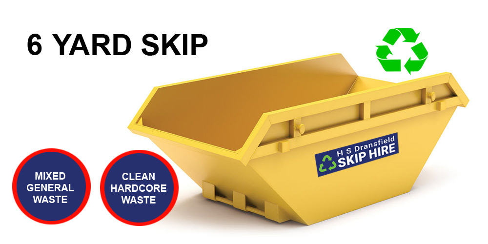 6 Yard Skip Hire Preston